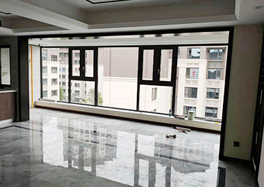 铝合金推拉窗安装
