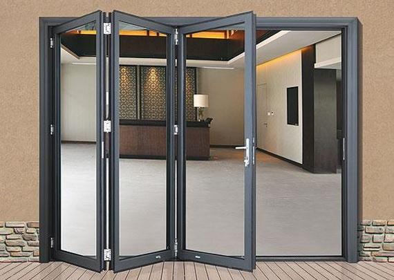 重庆铝合金折叠门